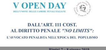 Open Day UCPI 2019